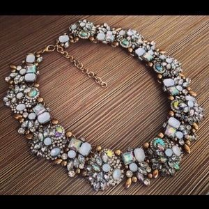 Crystal Statement Necklace,Crystal Necklace